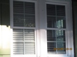 blinds open from night before same shut