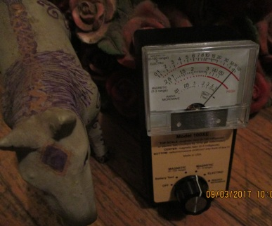 high readings cause constant feeling of electrocution, beside hand held torture on different body parts