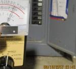 readings three feet from fuse box