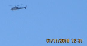 chopper fly over