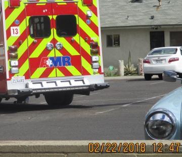 At Von's another ambulance