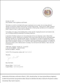 Jim Guest's letter
