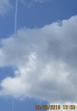 one chemtrail among others