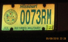 SPY 007 license plate 3rd level Risk Management