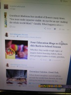 All other WordPress blogs have a full photo on Reader, my photos cut in half or sideways