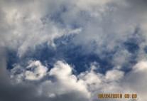 break in clouds