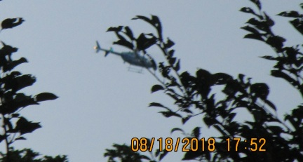 long Army chopper behind trees circling home.jpg