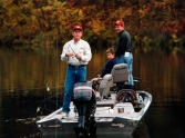 bush-fishing with morris and son