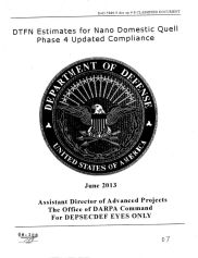 front of unclassified document