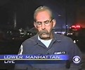 Tom Kenney speaking on live TV about FEMA being at World Trade Center site on 9-10-2001