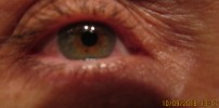 eyes got pinker as morning wore on