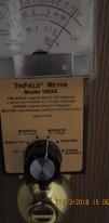 danger level 6 magnetic radiation on front door knob
