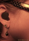 magnet covering entrace of ear