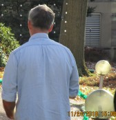 man at botanical garden st. louis who followed wherever we went and targeted