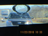 rear view mirror photo tailgating cop