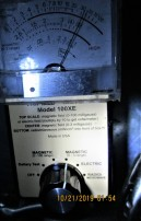 kitchen sink, main breaker off, danger readings
